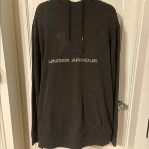 Under Armour Black & Gray Storm Hoodie Sweatshirt.